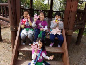 2018. 04. 13 유아반 숲체험  은행자연관찰원 견학